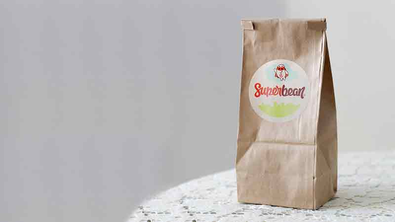 SuperBean Identidade visual - Bag