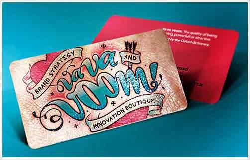 Cartão de visita criativo tatuador